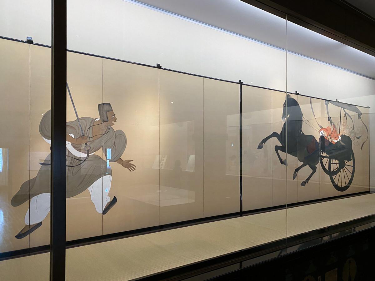 重要文化財 平福百穂《豫譲》大正6年(1517) 熊本県立美術館寄託
