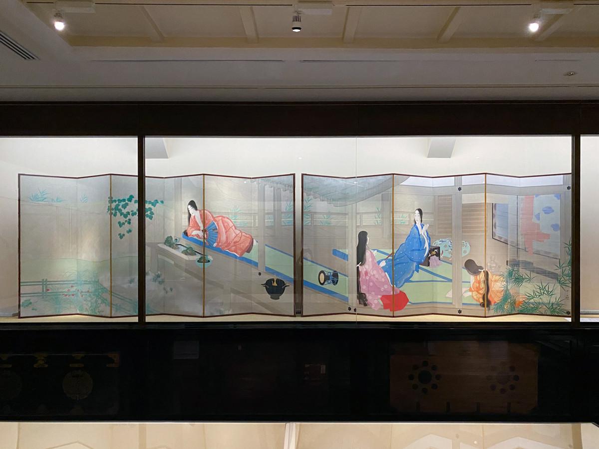 重要文化財 松岡映丘《室君》 大正5年(1516) 熊本県立美術館寄託