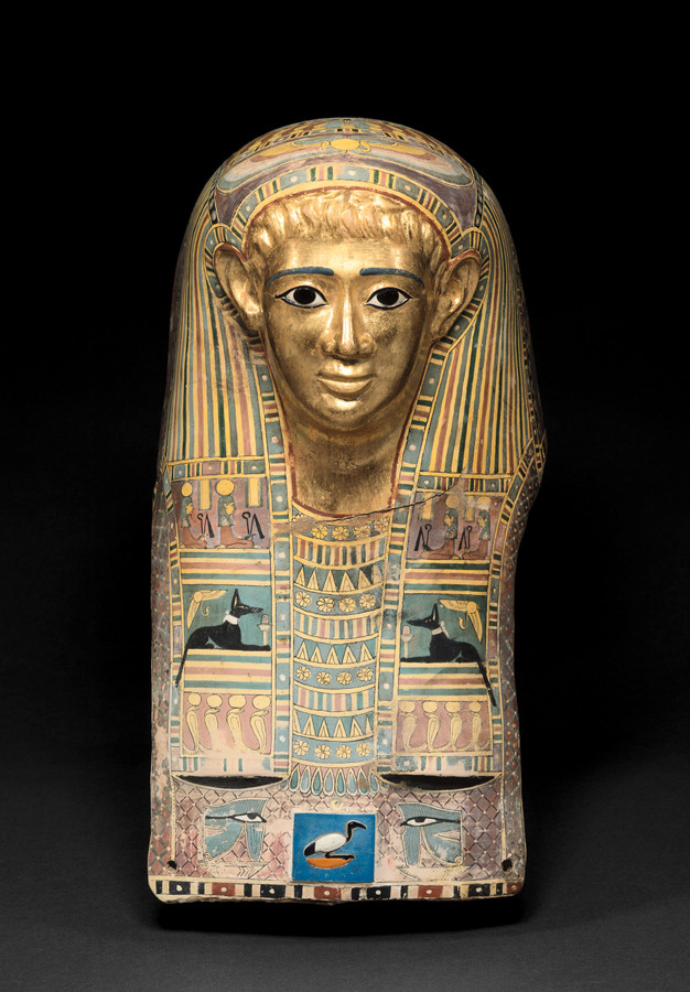 パレメチュシグのミイラ・マスク 後50~後100年頃 © Staatliche Museen zu Berlin, Ägyptisches Museum und Papyrussammlung Berlin / M. Büsing