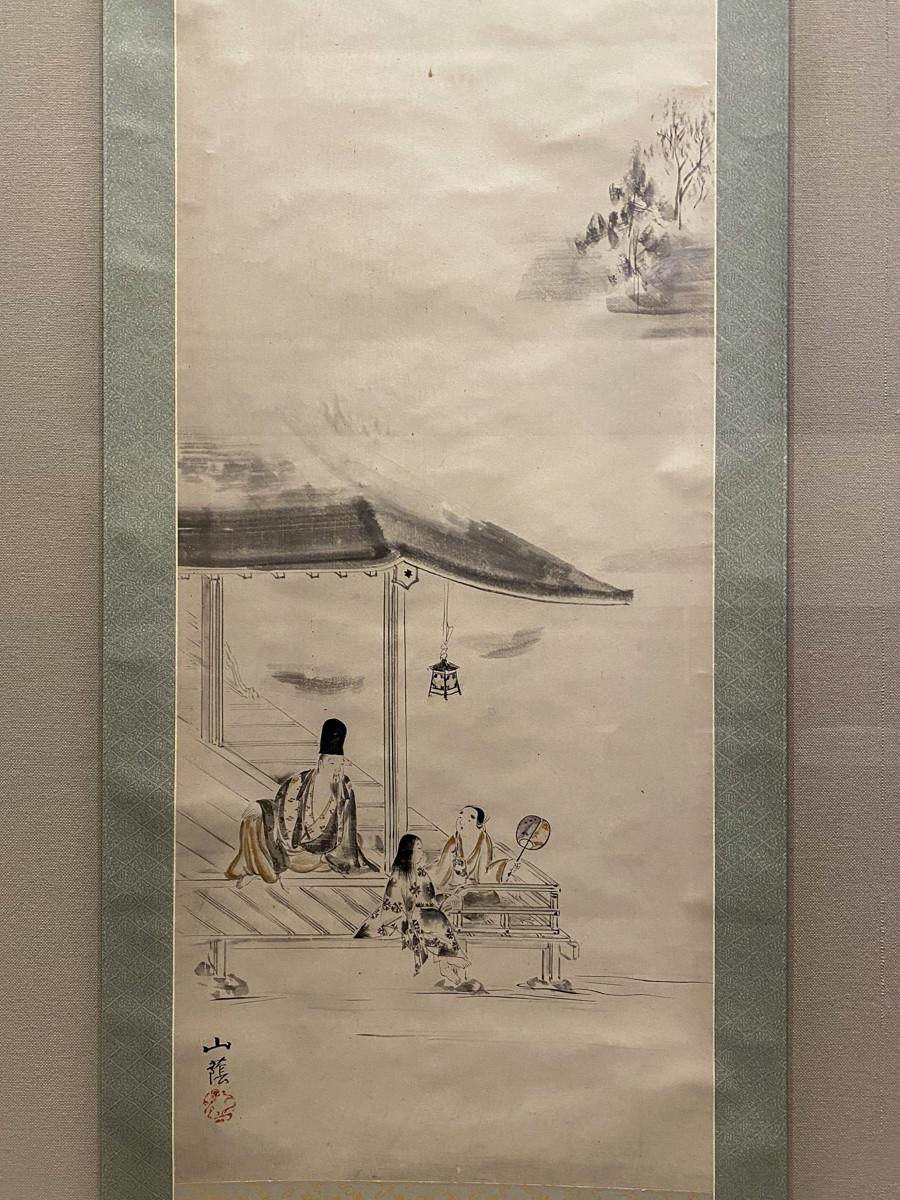 冷泉為恭筆《納涼図》江戸時代 19世紀