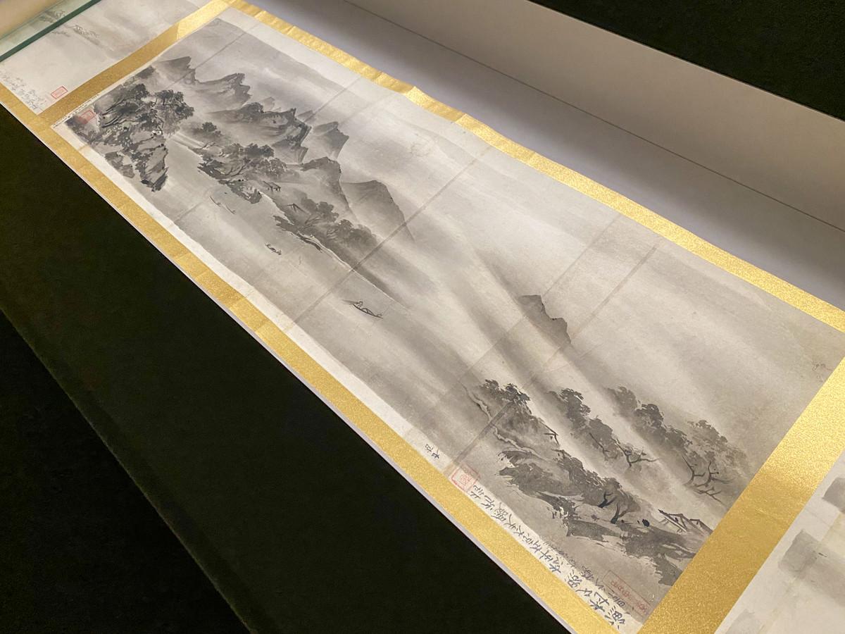 《牧谿瀟湘八景図巻摸本》江戸時代 18世紀