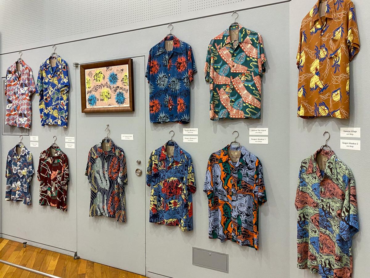 ジョン・メイグスがデザインしたアロハシャツ