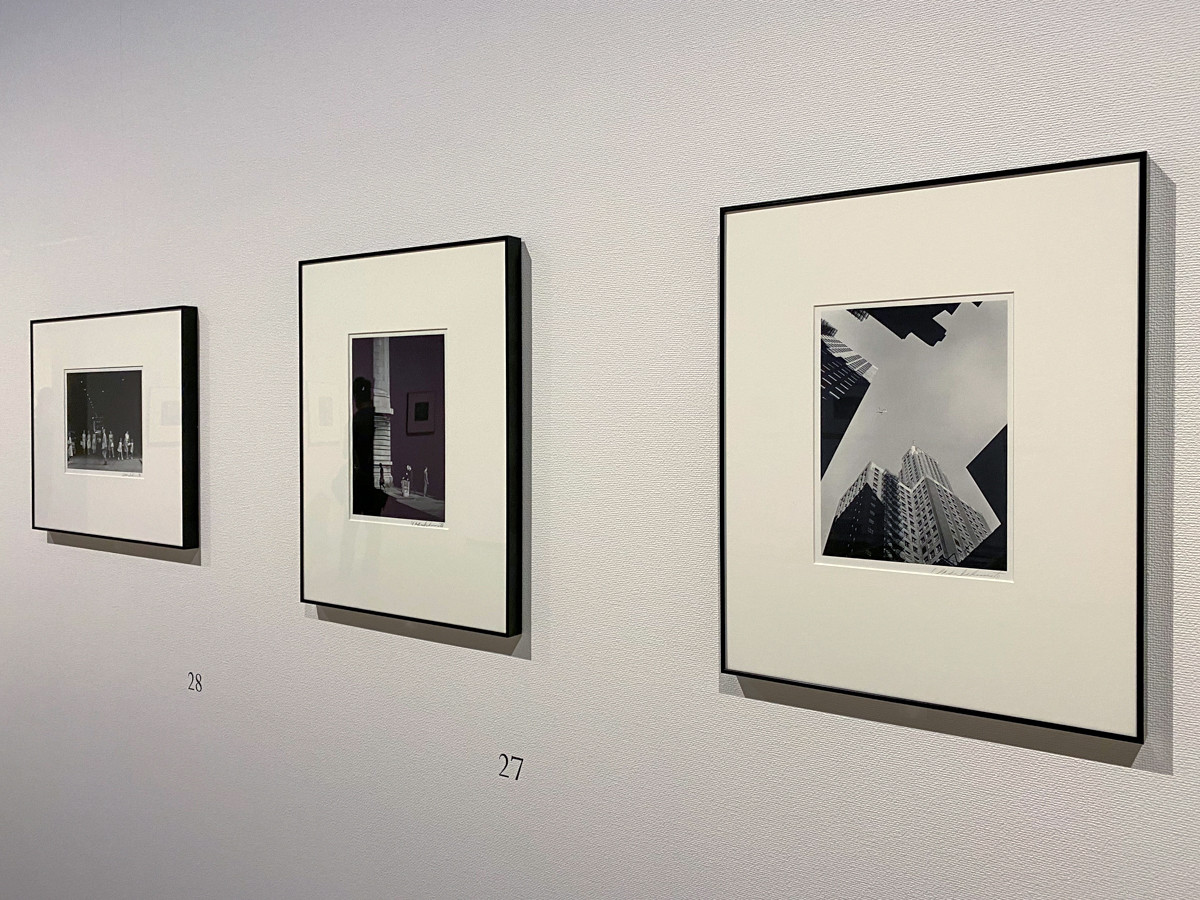 「シカゴ、シカゴ」より 《シカゴ 街》1959-61年 東京都写真美術館蔵 3点いずれも ©高知県, 石元泰博フォトセンター