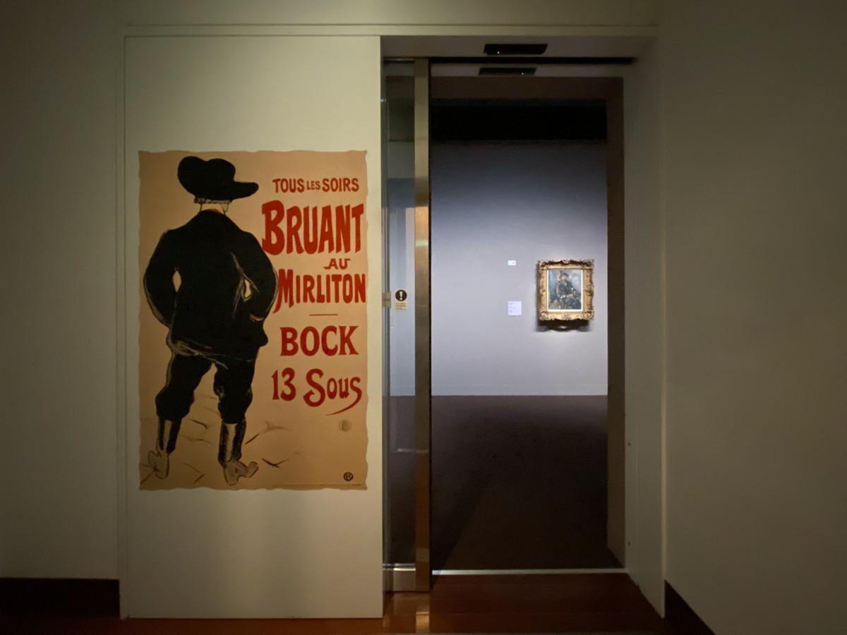 三菱一号館美術館「1894 Visions ルドン、ロートレック展」会場風景