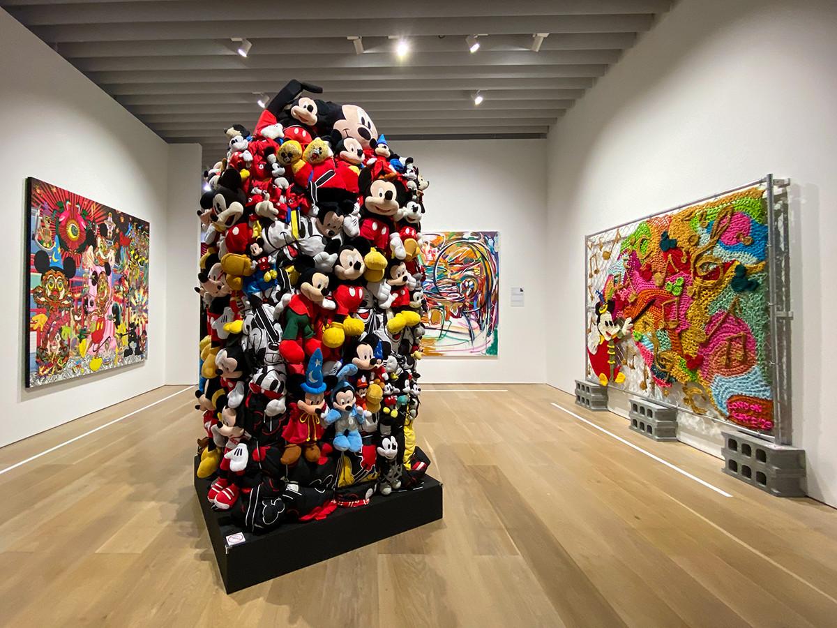 森アーツセンターギャラリー「ミッキーマウス展 THE TRUE ORIGINAL & BEYOND」会場風景
