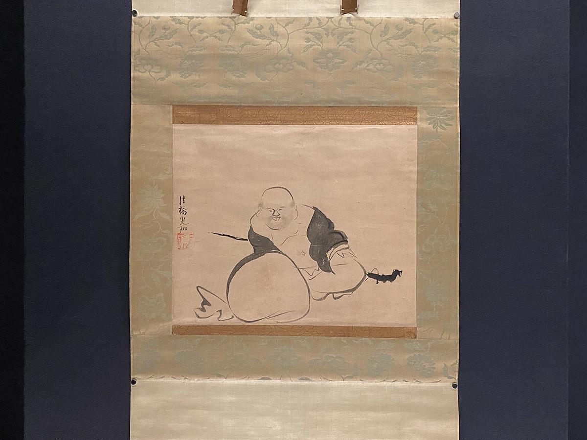 尾形光琳《布袋図》18世紀初頭