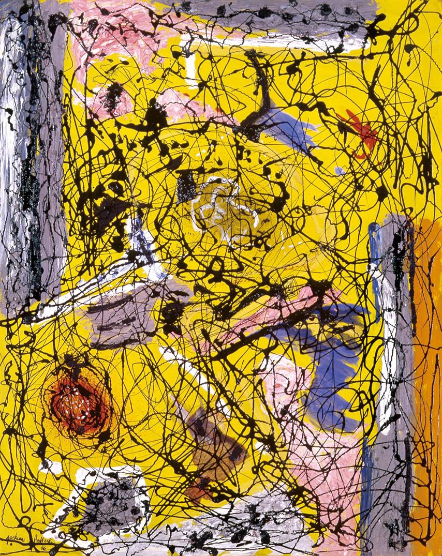 ゲルハルト・リヒター《オランジェリー》 1982年 油彩、カンヴァス 260.0×400.0cm 富山県美術館蔵 ©Gerhard Richter 2020(16062020)