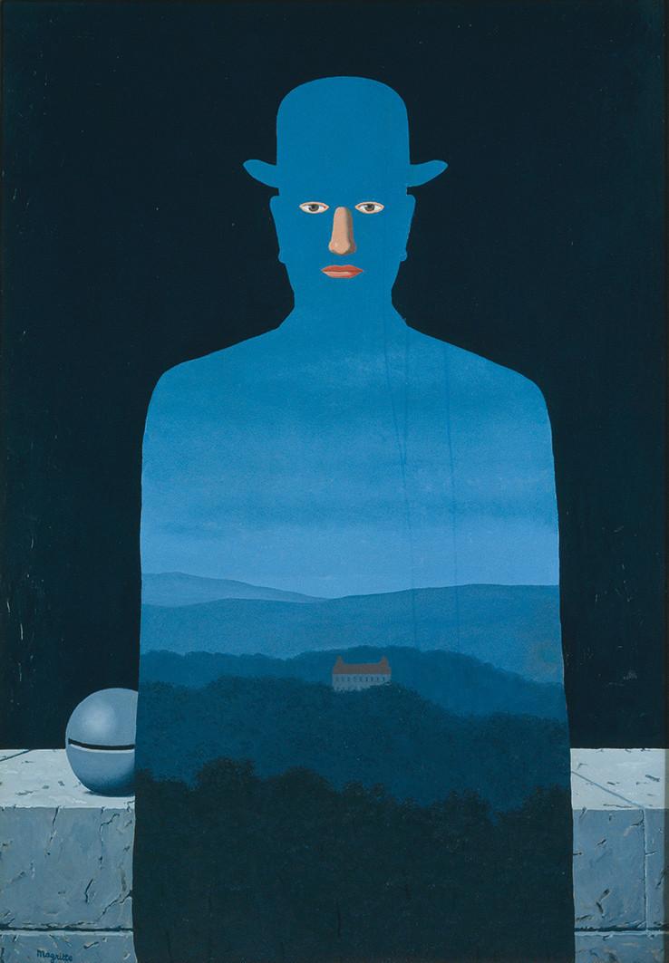 ルネ・マグリット《王様の美術館》 1966年 油彩、カンヴァス 130.0×89.0cm 横浜美術館蔵