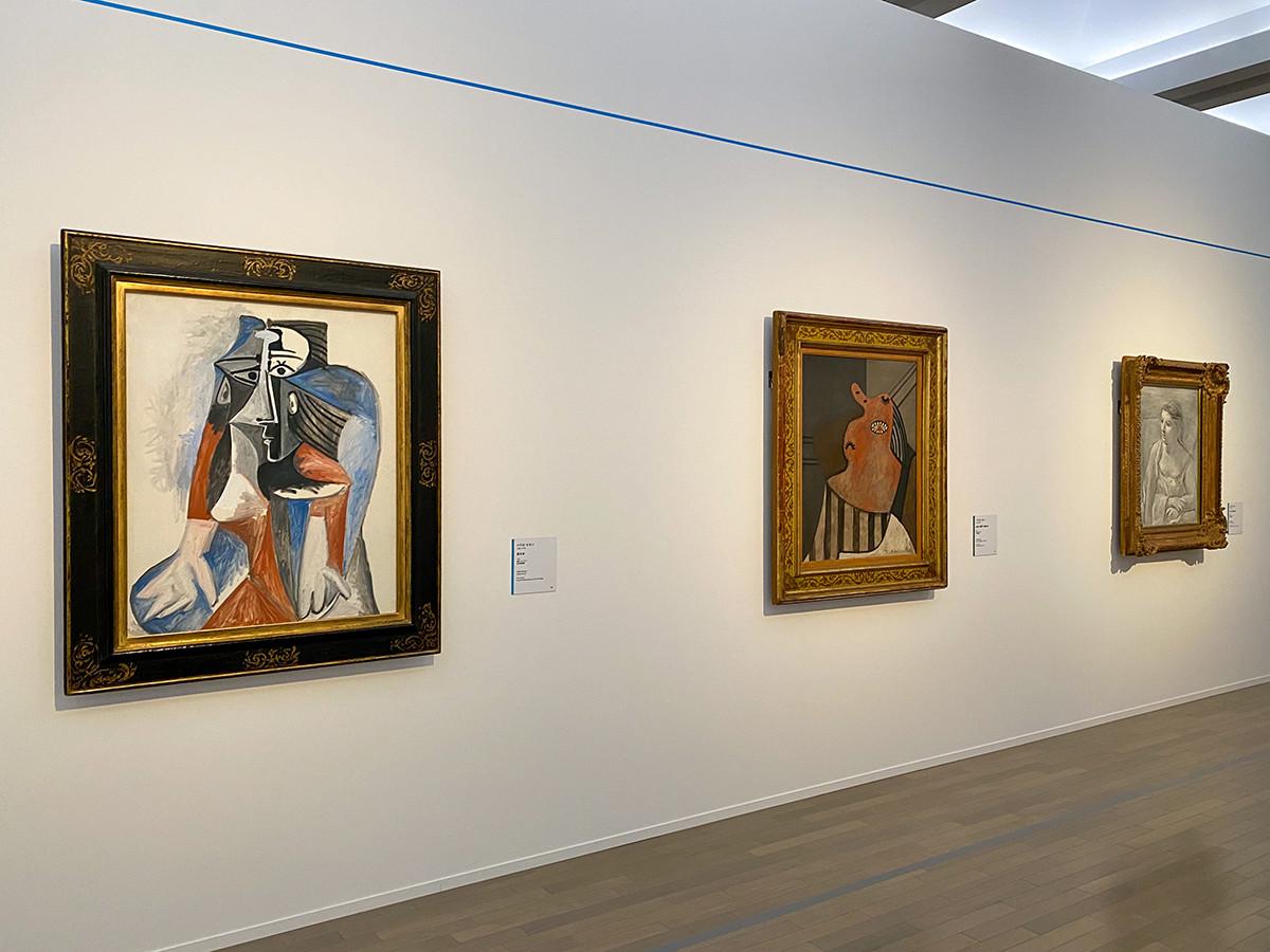 横浜美術館「トライアローグ」展 第1章「1900s ー アートの地殻変動」
