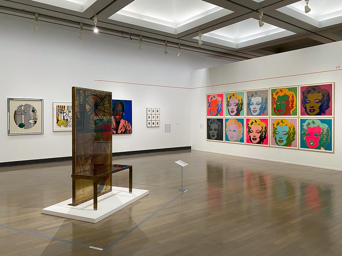 横浜美術館「トライアローグ」展 第3章「1960s ー アートの多元化」