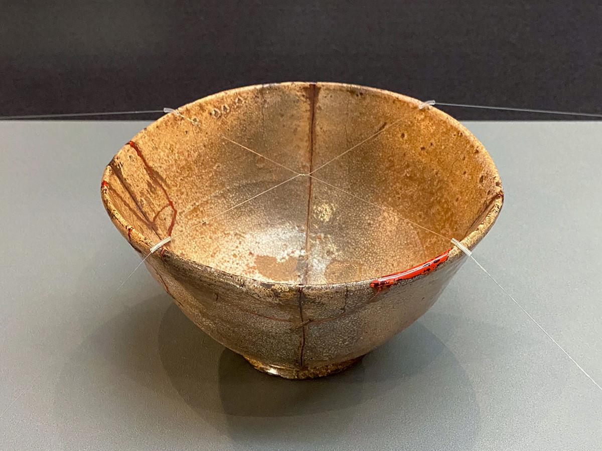 《大井戸茶碗 銘須弥(別銘十文字)》朝鮮時代・16世紀