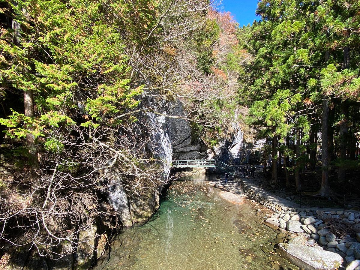 山上川の透明度は息を飲むほど
