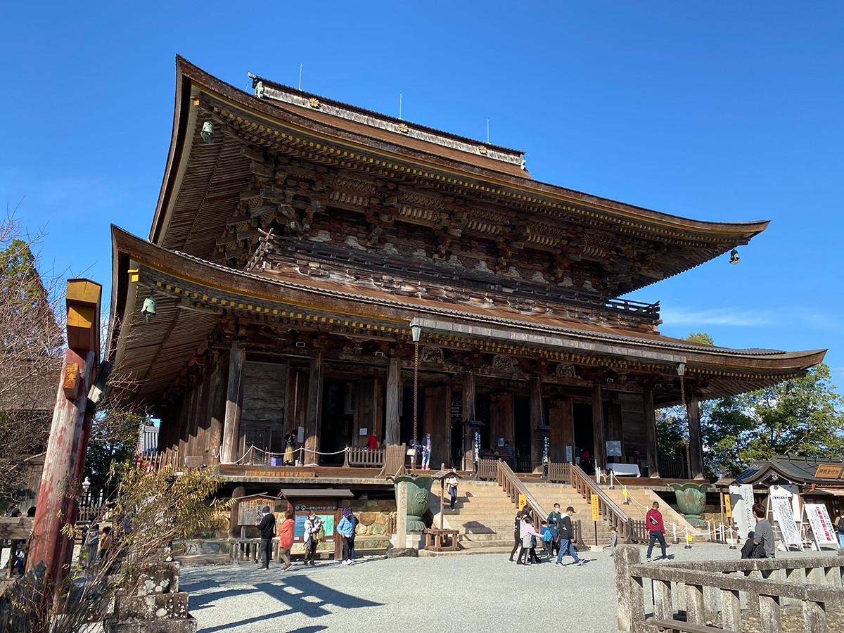 国宝 金峯山寺 蔵王堂