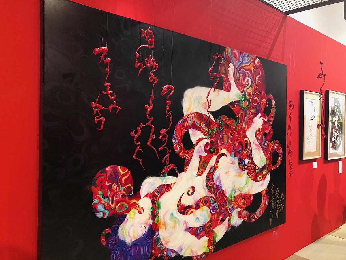 代官山T-SITE GARDEN GALLERY「春宮秘画展」会場