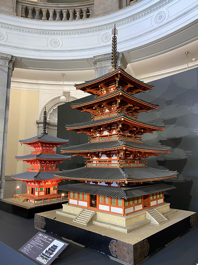 「日本のたてもの―自然素材を活かす伝統の技と知恵」会場