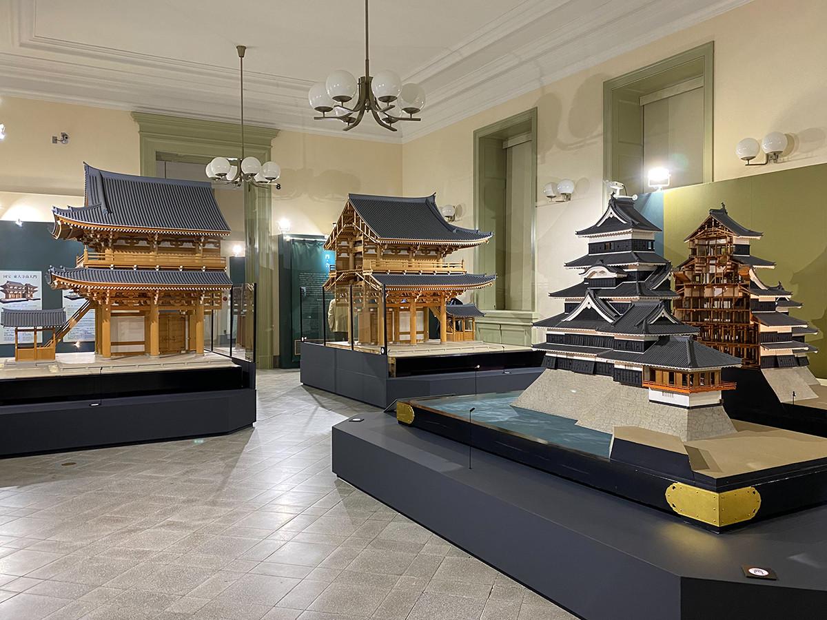 「日本のたてもの ― 自然素材を活かす伝統の技と知恵」会場