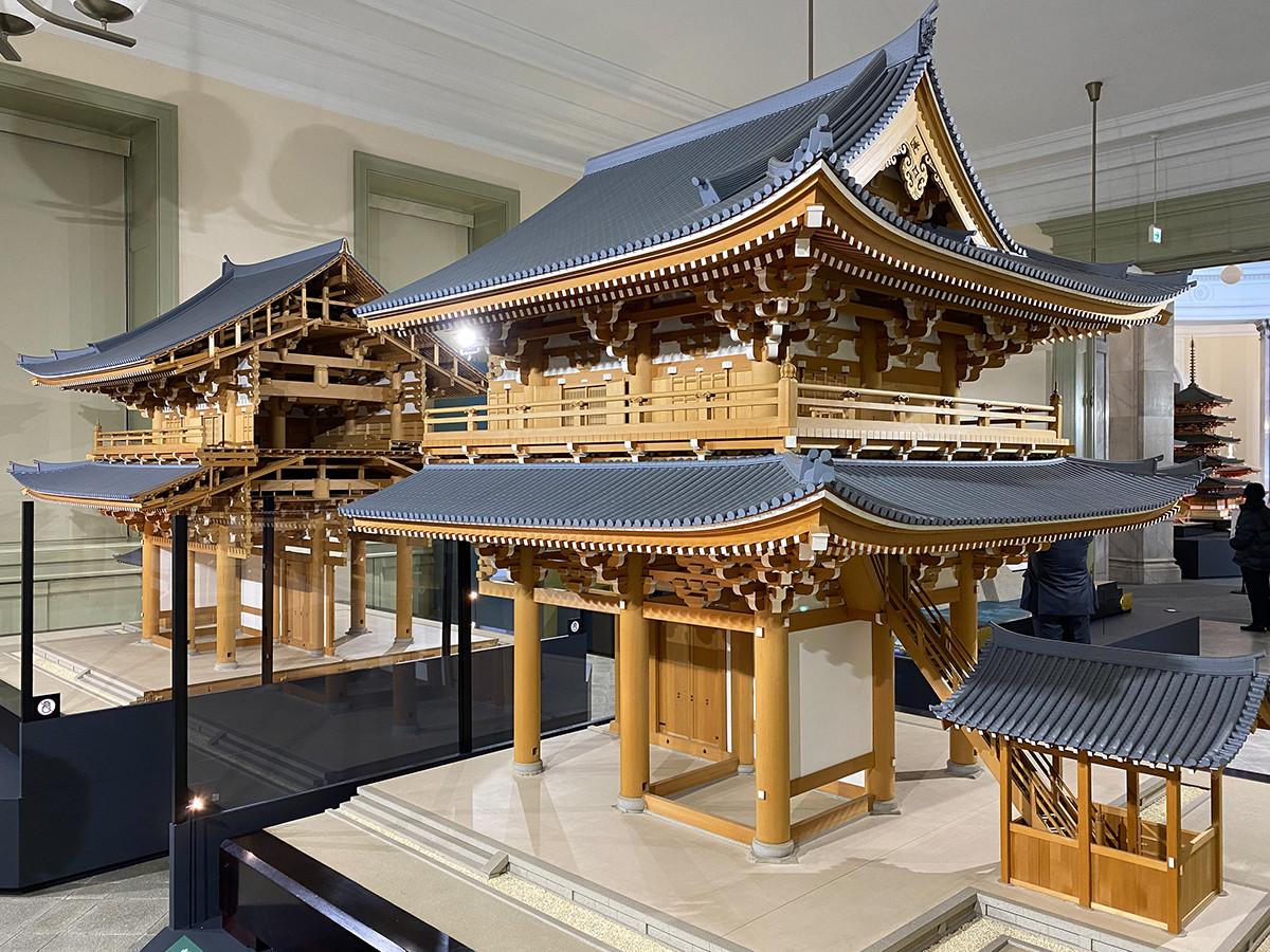 《東福寺三門 1/10模型》