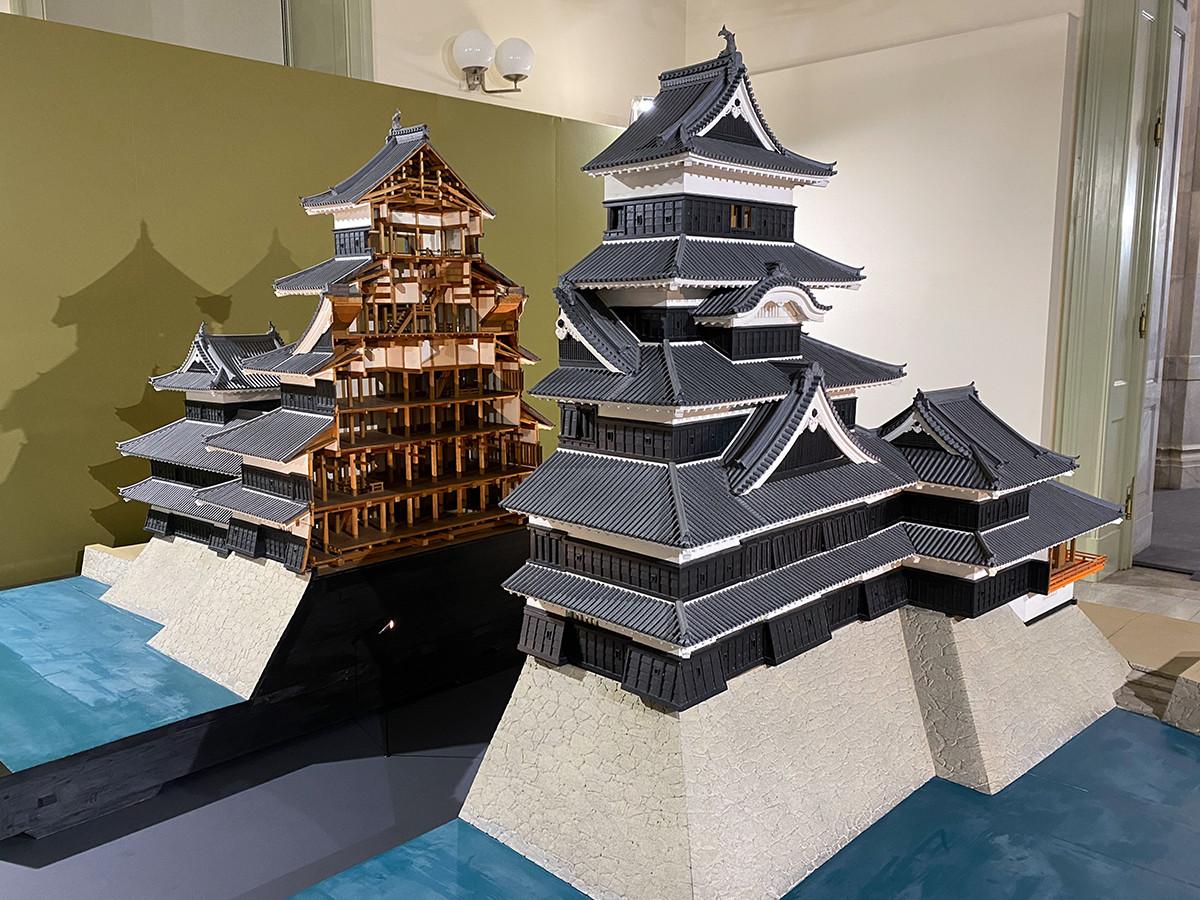 《松本城天守 1/20模型》