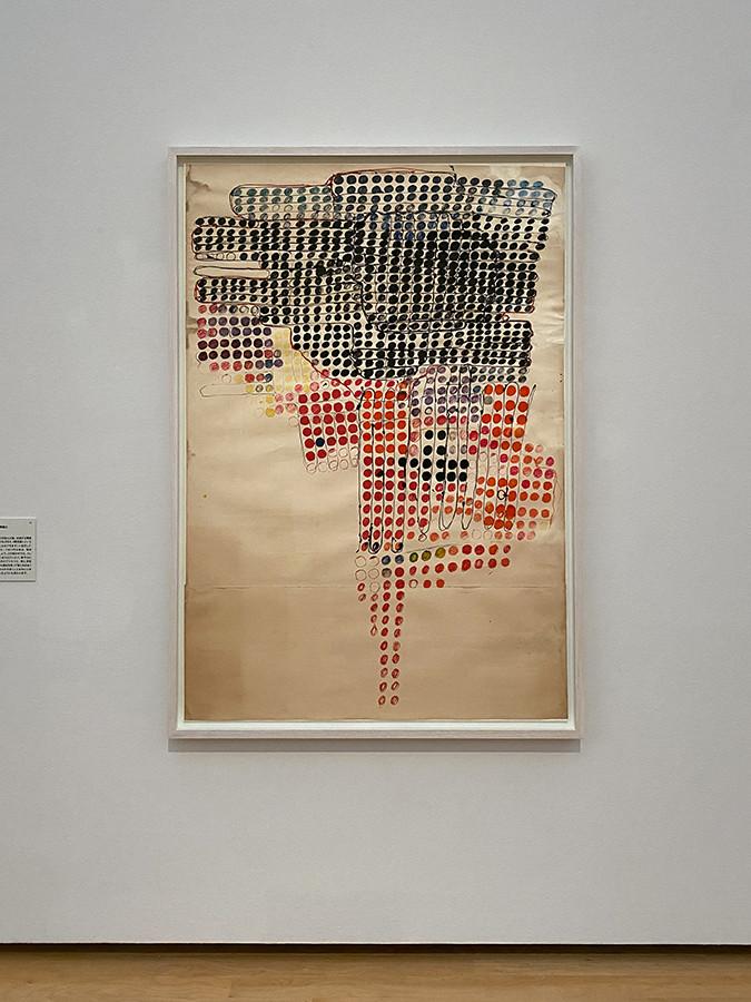 田中敦子《無題》1956-57年