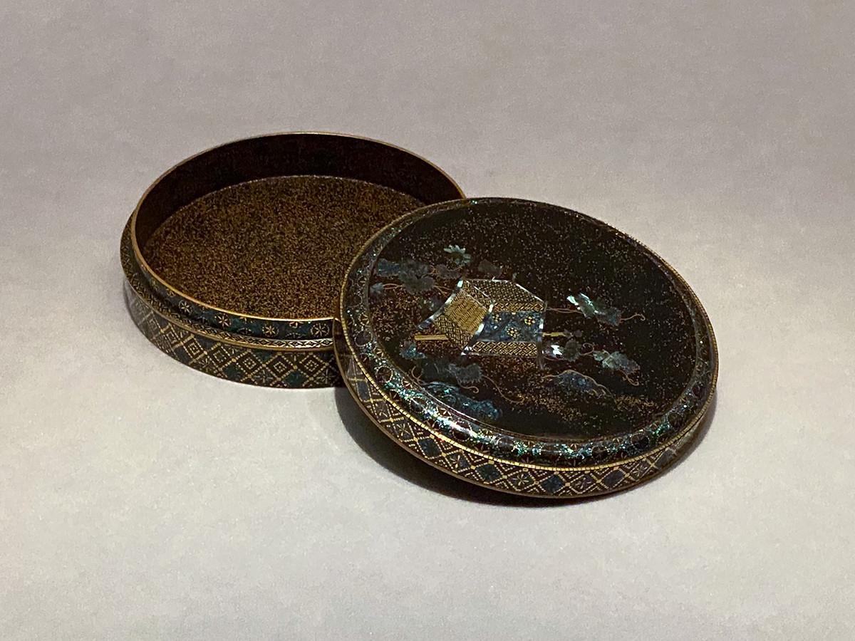 《蔦細道螺鈿香合》江戸時代 18~19世紀 根津美術館