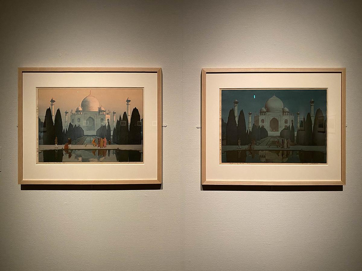 東京都美術館「没後70年 吉田博展」会場