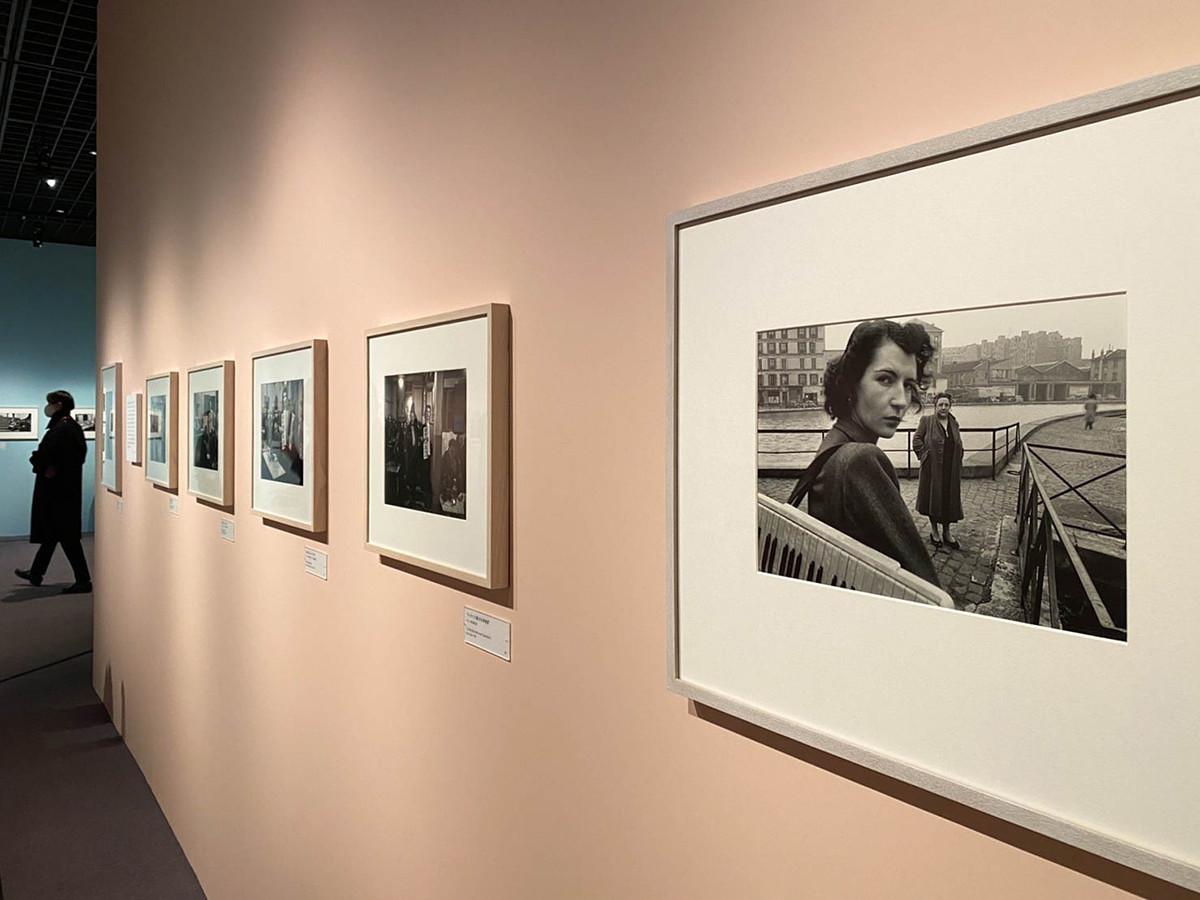 Bunkamura ザ・ミュージアム「写真家ドアノー/音楽/パリ」会場