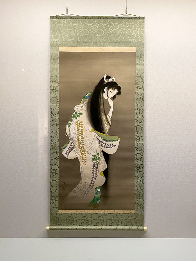 2章–5「一途と狂気」 上村松園《焰》大正7(1918)年 東京国立博物館[展示期間:3/23~4/4]