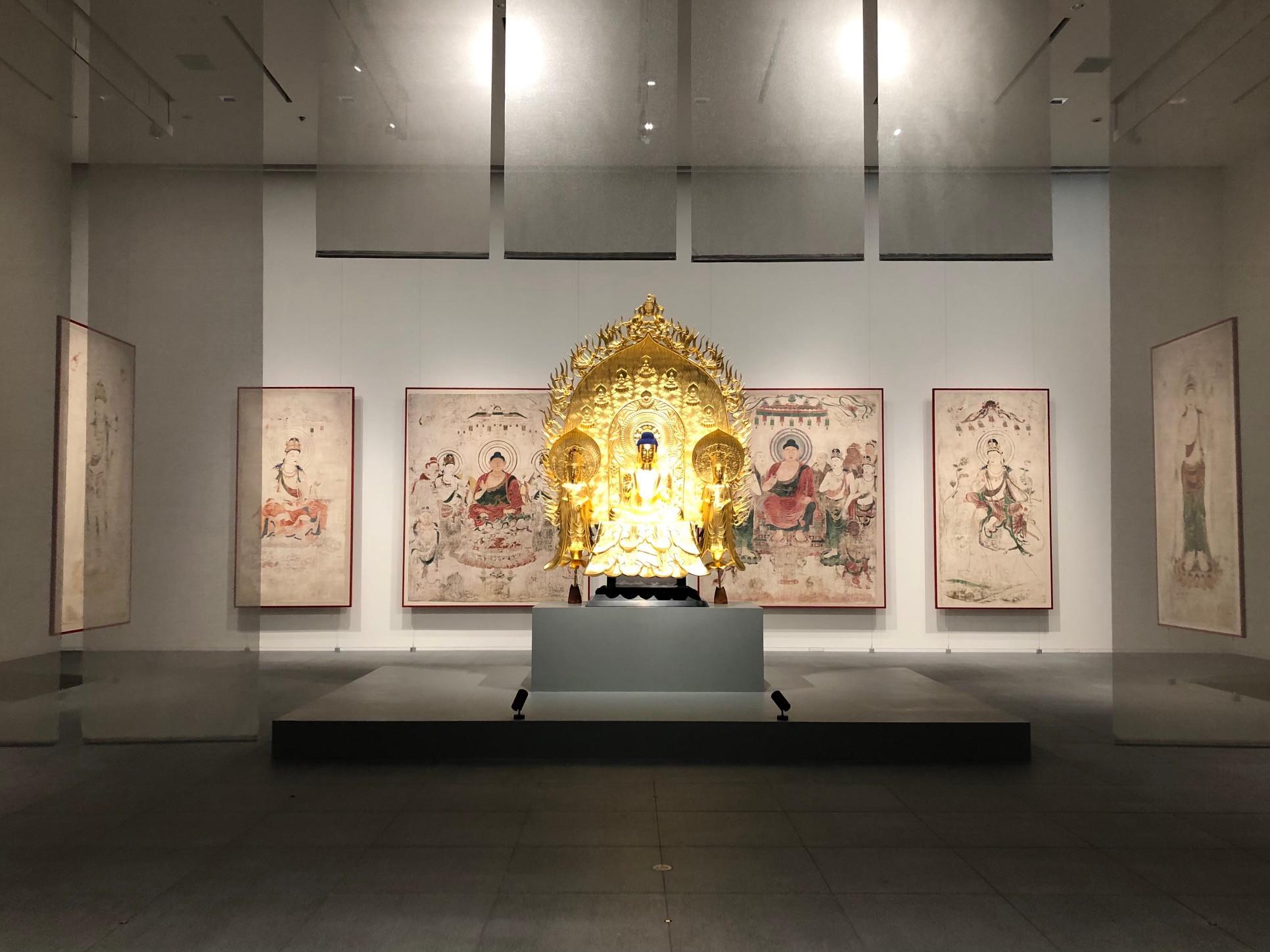 「未来につなぐ~新美術館でよみがえる世界の至宝 東京藝術大学スーパークローン文化財展」