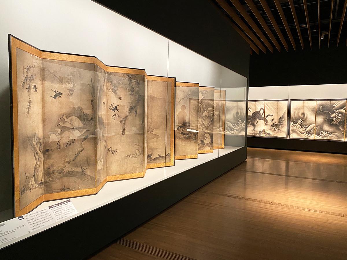 サントリー美術館「ミネアポリス美術館 日本絵画の名品」展会場