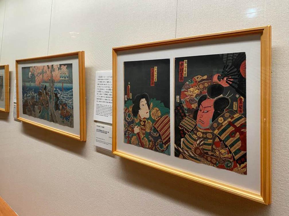 太田記念美術館「江戸の敗者たち」展会場