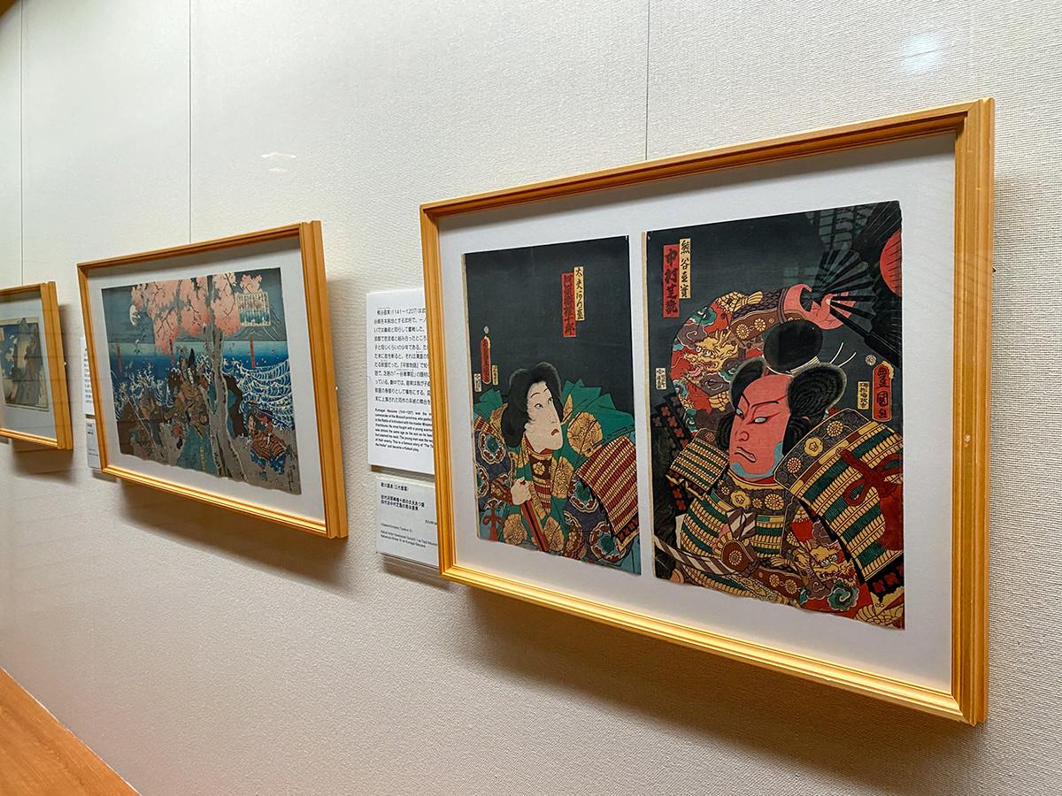 太田記念美術館「江戸の敗者たち」会場風景