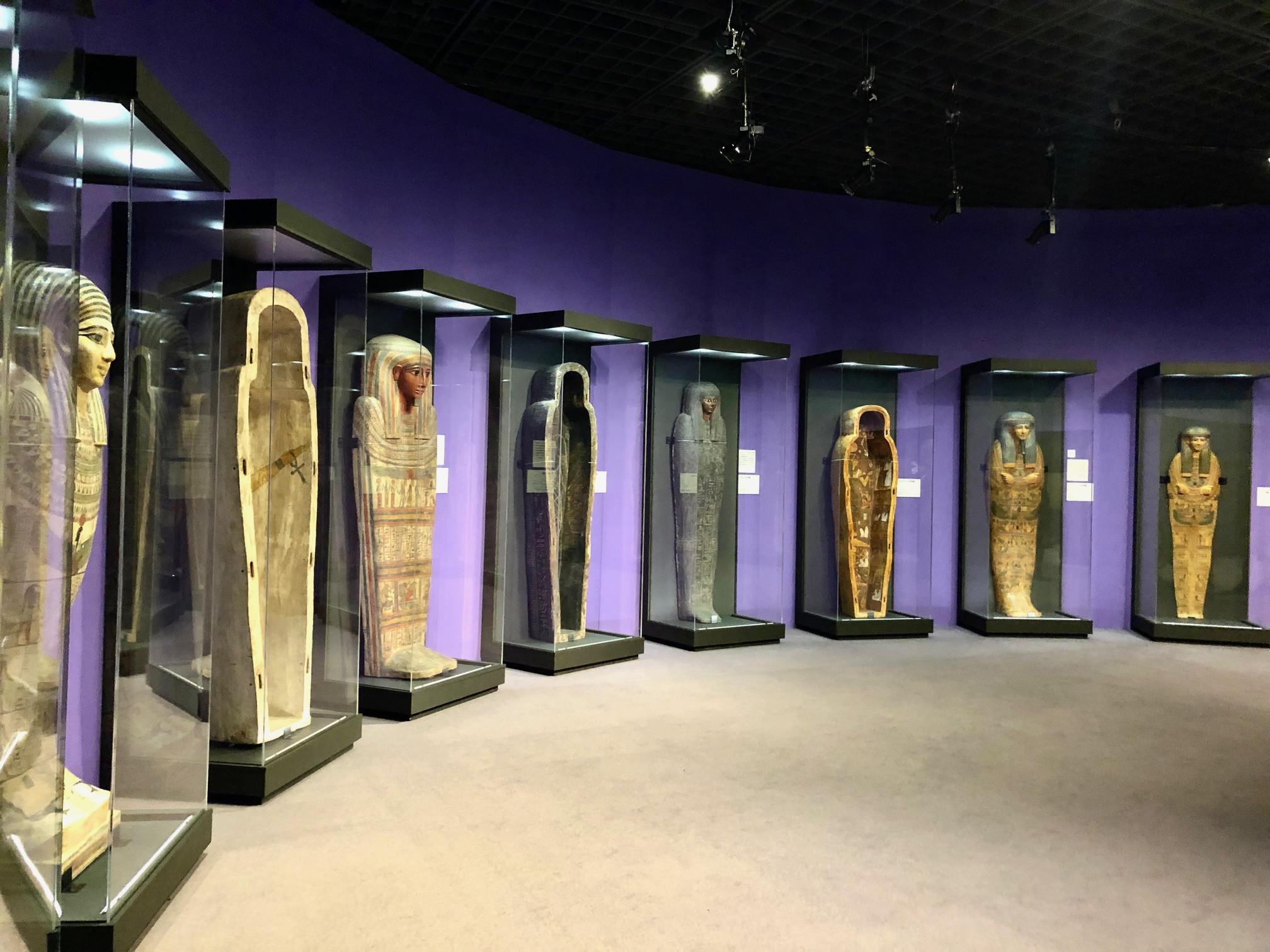 Bunkamura ザ・ミュージアム「ライデン国立古代博物館所蔵 古代エジプト展」展会場