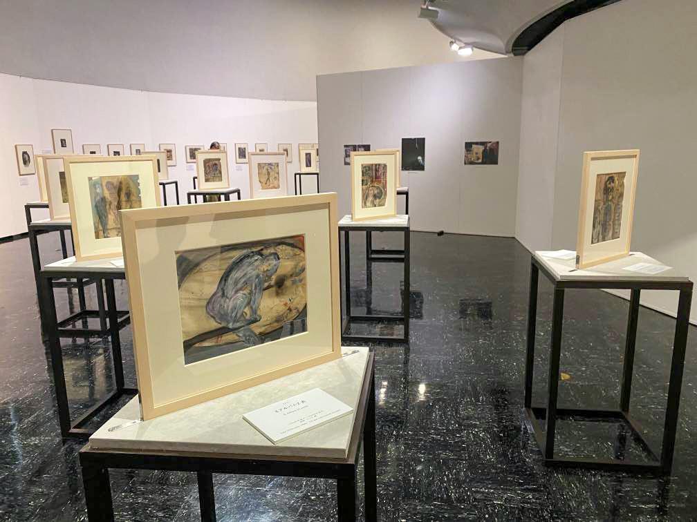 渋谷区立松濤美術館「フランシス・ベーコン」展 会場