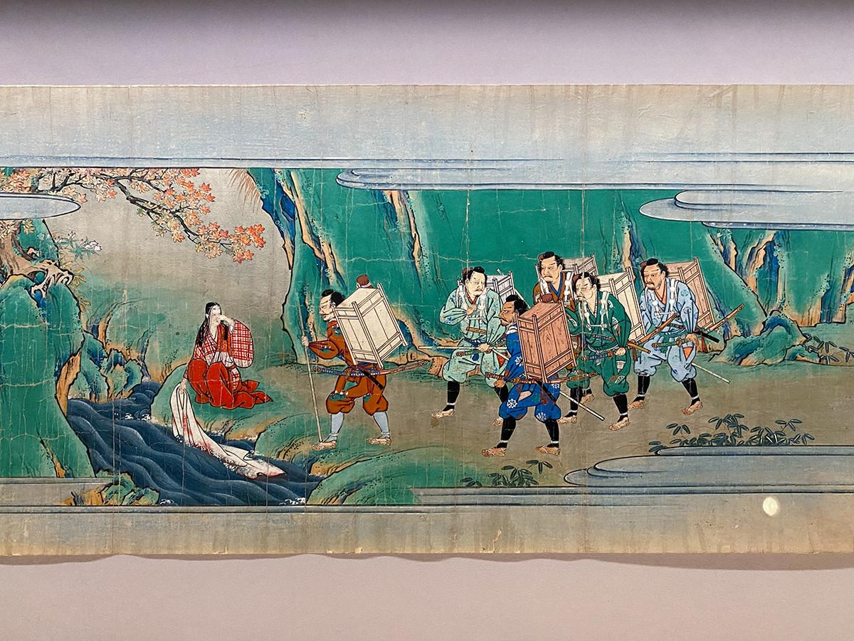 伝 狩野山楽《酒呑童子絵巻》江戸時代 17世紀 根津美術館藏