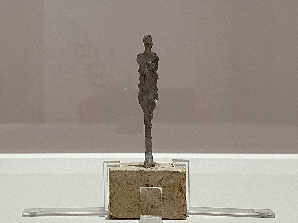 アルベルト・ジャコメッティ《裸婦小立像》1946年頃