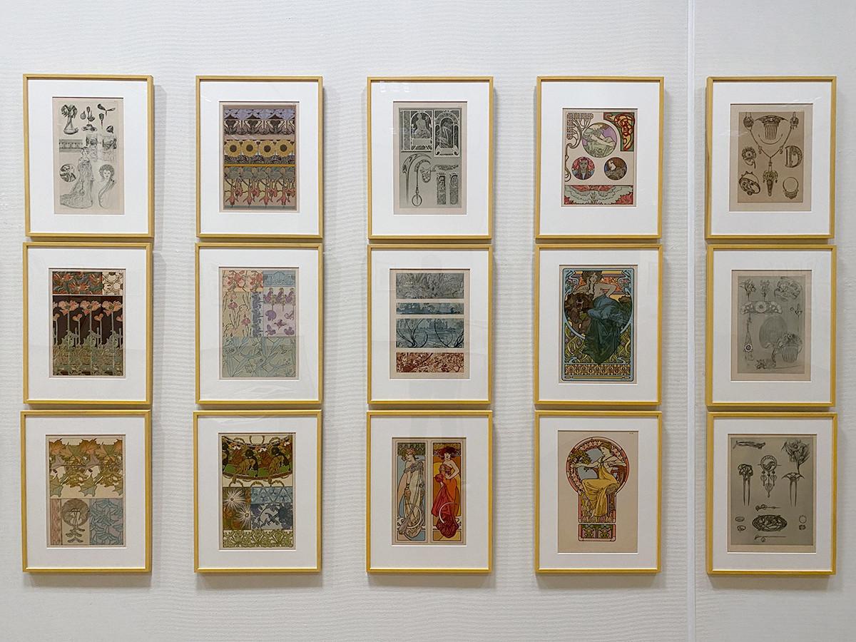 アルフォンス・ミュシャ《装飾資料集》1902 OGATAコレクション蔵