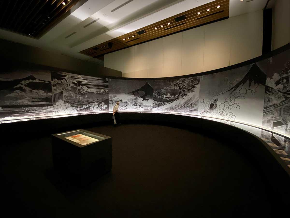 東京ミッドタウン・ホール「北斎づくし」会場
