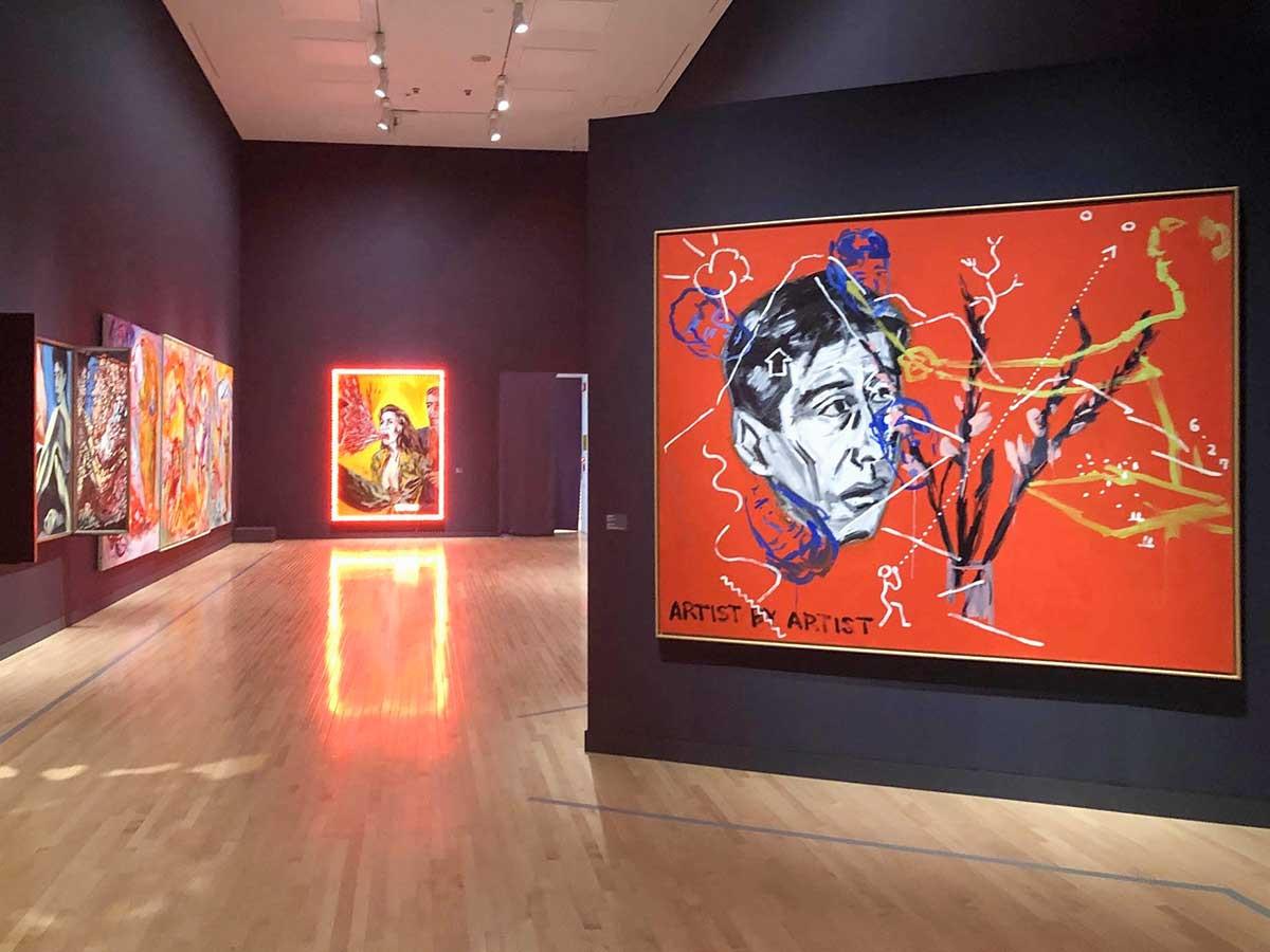 東京都現代美術館「GENKYO 横尾忠則 原郷から幻境へ、そして現況は?」会場