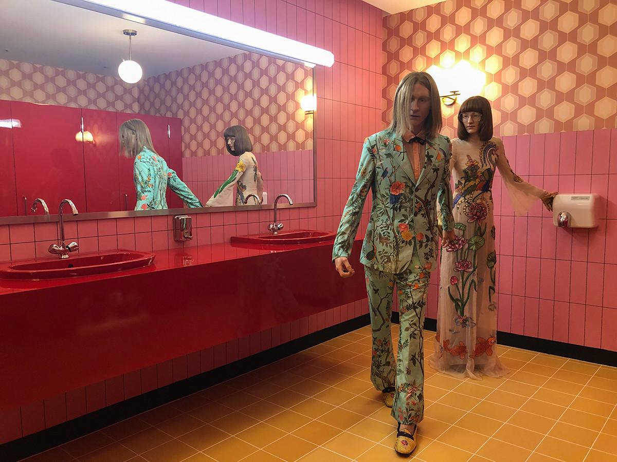 「Gucci Garden Archetypes」展 in TOKYO 会場 Rebellious Romantics