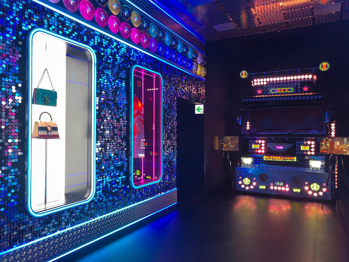 「Gucci Garden Archetypes」展 in TOKYO 会場 Room5 Tokyo Lights