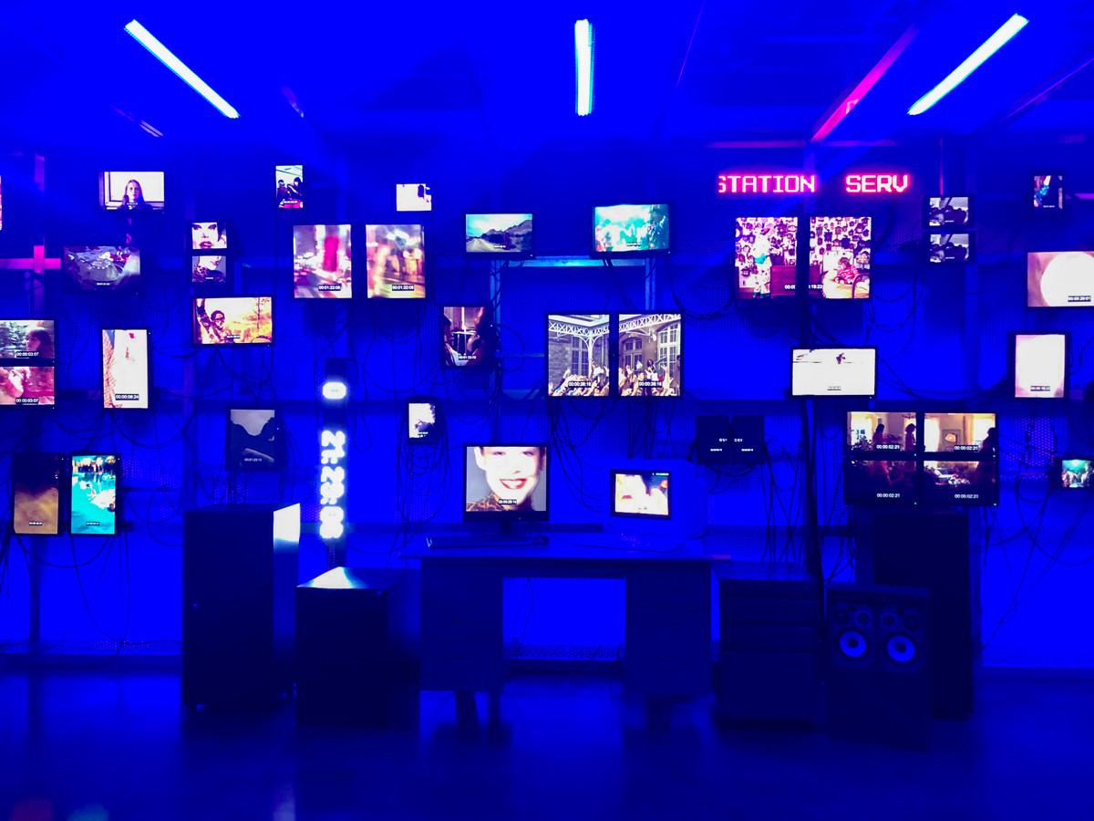 「Gucci Garden Archetypes」展 in TOKYO 会場 Room0 Control Room