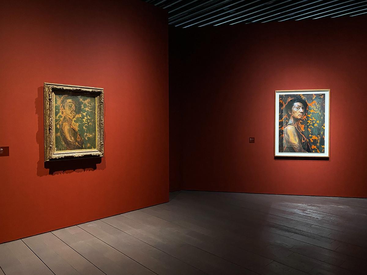 アーティゾン美術館「M式「海の幸」 ― 森村泰昌 ワタシガタリの神話」会場