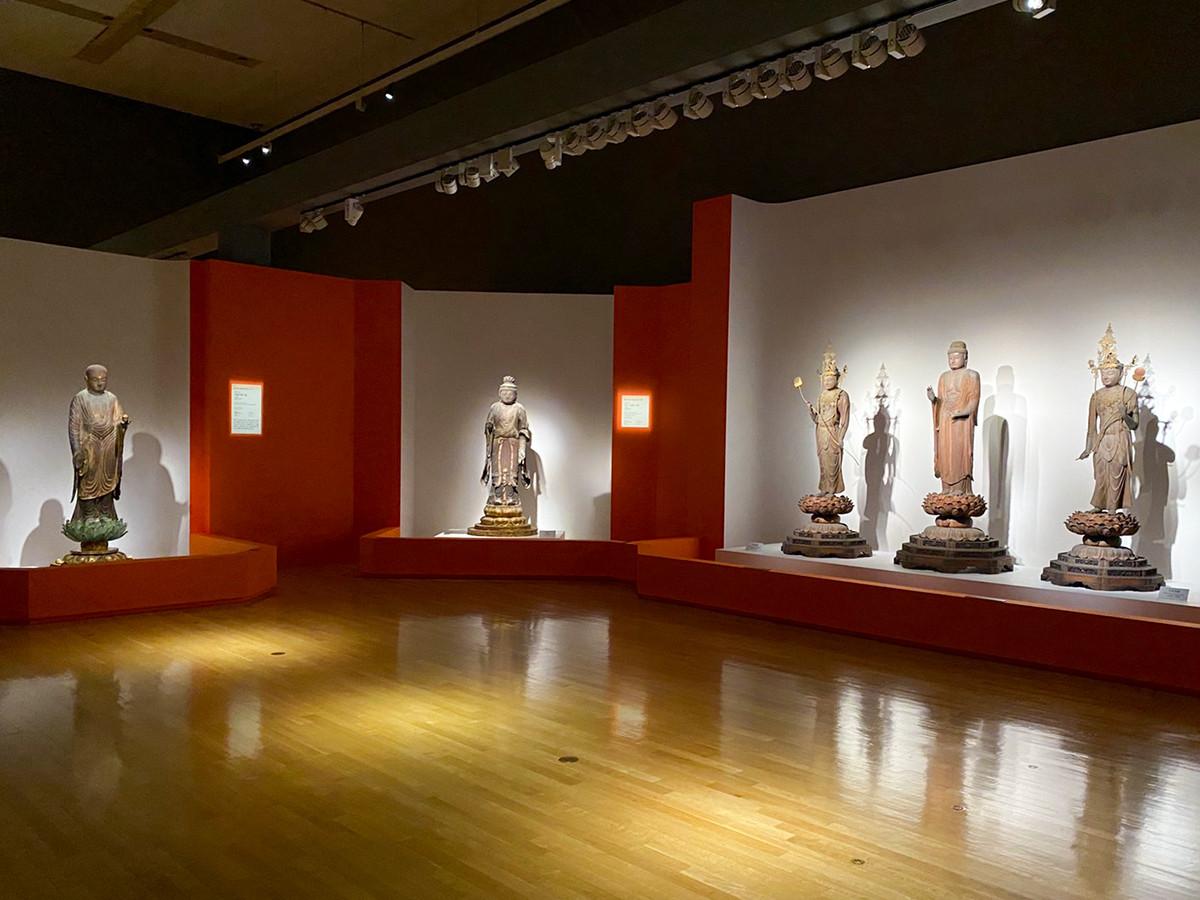 東京国立博物館「最澄と天台宗のすべて」会場