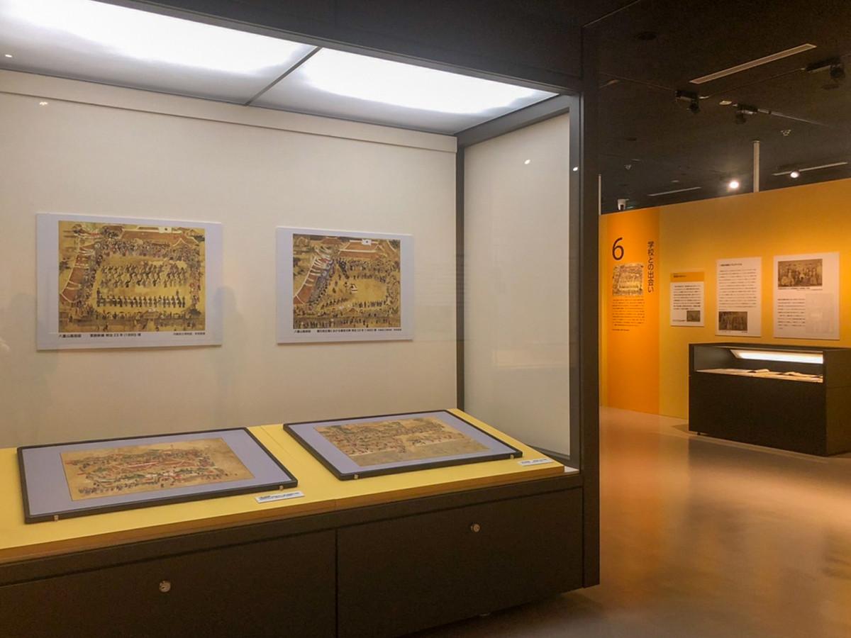 国立歴史民俗博物館「学びの歴史像 ― わたりあう近代 ―」会場