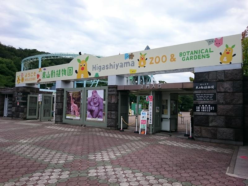 年末 東山 年始 動物園
