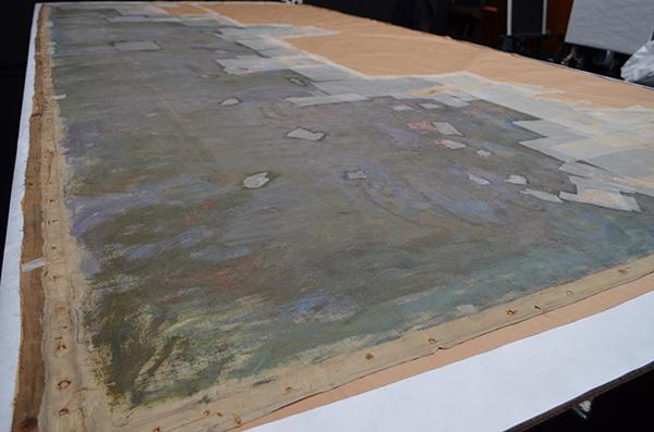 クロード・モネ《睡蓮―柳の反映》油彩・カンヴァス 1916年 国立西洋美術館