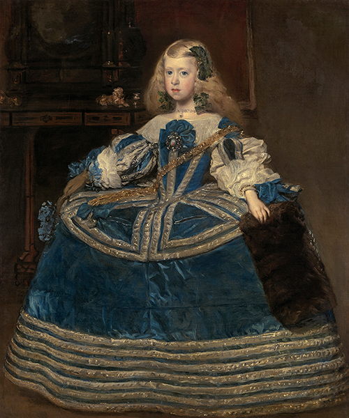 ディエゴ・ベラスケス《青いドレスの王女マルガリータ・テレサ》1659年 ウィーン美術史美術館 Kunsthistorisches Museum, Wien