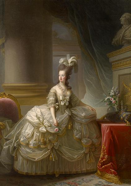 マリー・ルイーズ・エリザベト・ヴィジェ=ルブラン《フランス王妃マリー・アントワネットの肖像》1778年 ウィーン美術史美術館 Kunsthistorisches Museum, Wien