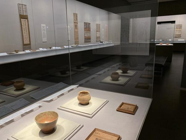 根津美術館「江戸の茶の湯 ー 川上不白 生誕三百年 ー」
