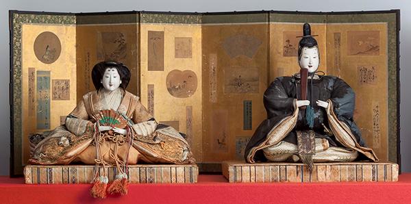 有職雛(ゆうそくびな) 時代:江戸時代 さいたま市岩槻人形博物館蔵